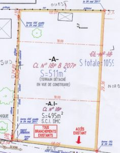 Avant-Projet - Plan de Parcelle