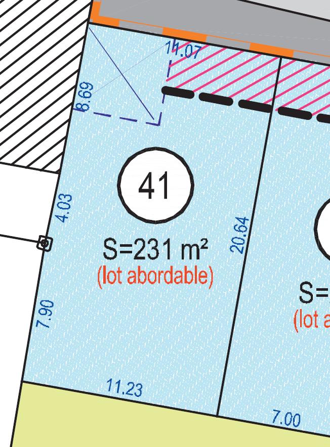 Maison 63m² + Terrain 230m² à Gorges - Lot 41