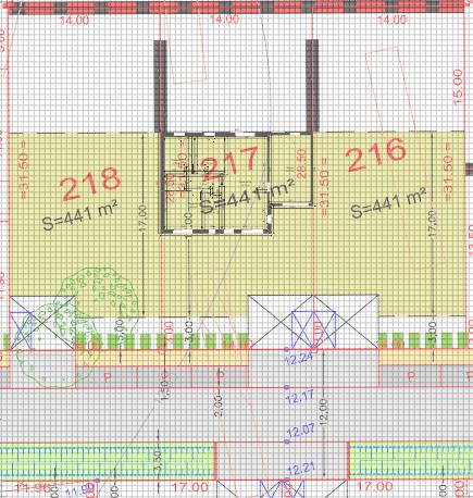 Maison 78m² + Terrain 441m² aux Moutiers-en-Retz - Implantation sur la Parcelle