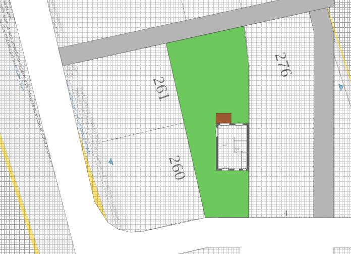 Maison 90m² + Terrain 462m² à Thouaré-sur-Loire - Implantation sur la Parcelle
