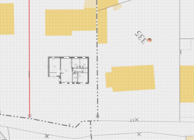 Maison 78m² + Terrain 495m² à Bouguenais - Implantation sur la Parcelle