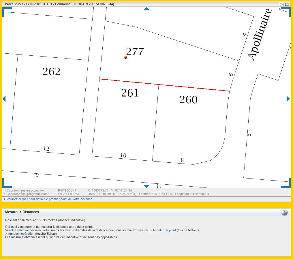 Maison 90m² + Terrain 462m² à Thouaré-sur-Loire - Lot 20 Parcelle AD 277 mieux cadrée