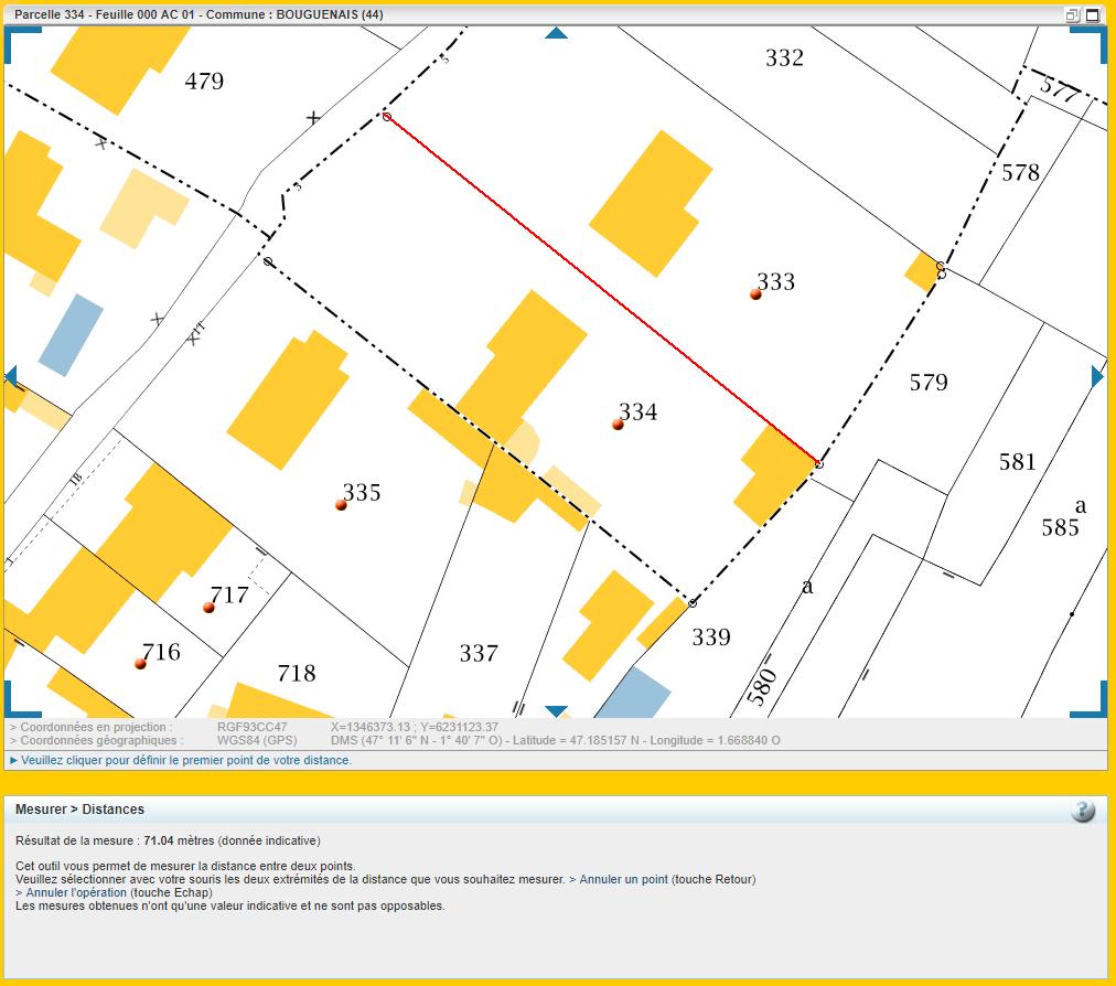 Maison 78m² + Terrain 495m² à Bouguenais - Parcelle