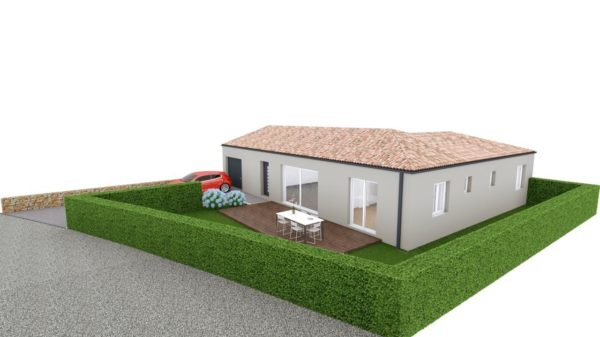 Maison 108m² + Terrain 400m² à Basse-Goulaine - Vue d'Ensemble