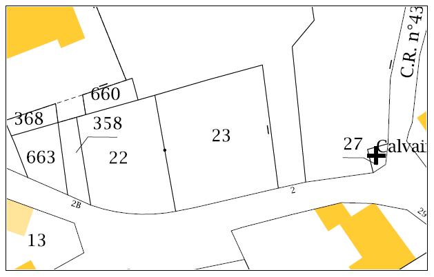 Maison 92m² + Terrain 350m² à La Chapelle-Basse-Mer - Parcelle