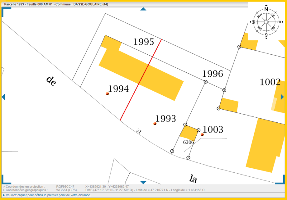 Maison 132m² + Terrain 560m² à Basse-Goulaine - Parcelle avec Orientation