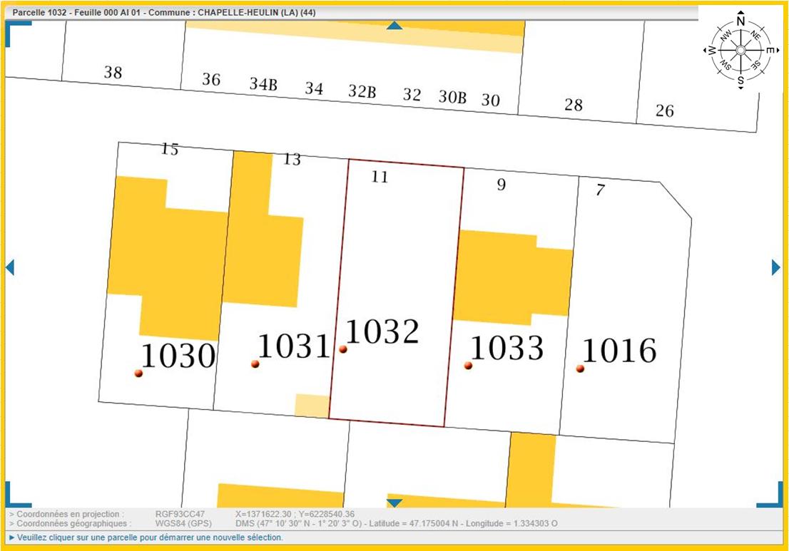 Maison 95m² + Terrain 230m² à La Chapelle-Heulin - Parcelle Lot 3 du Clos de Monterey