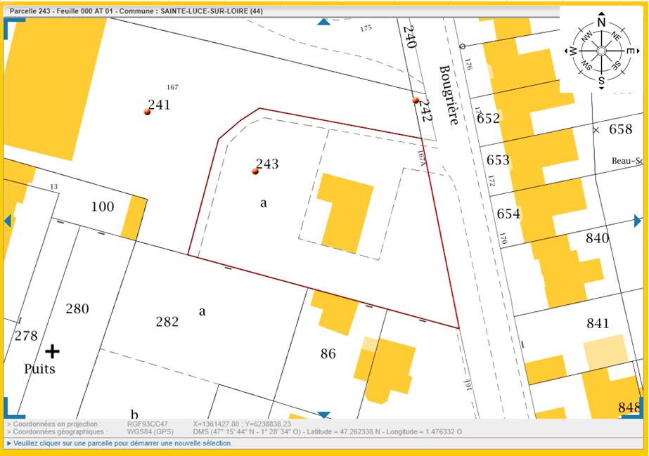 Maison 99m² + Terrain 757m² à Sainte-Luce-sur-Loire - Parcelle-avec-Orientation