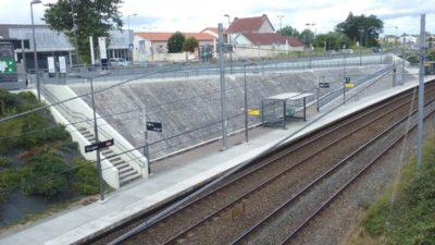 Construire à Gorges -  Halte du TER