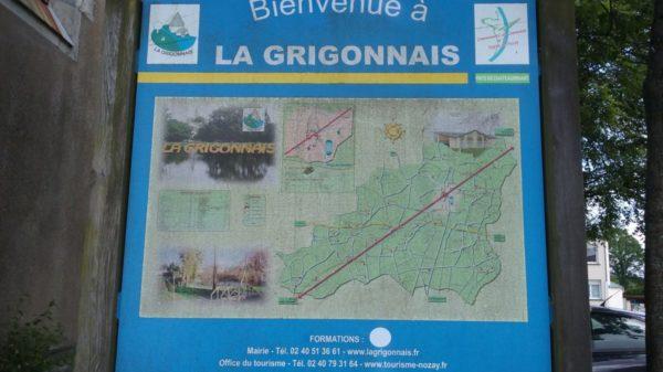 Construire à La Grigonnais -  Panneau de Bienvenu