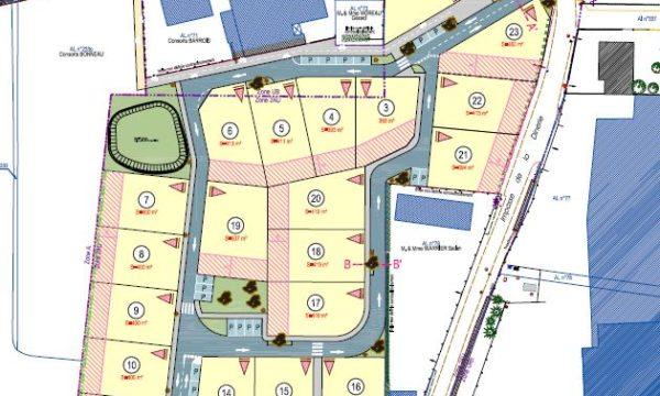 Terrain de 400m² à La Chapelle-Heulin - Le Clos des Courtières