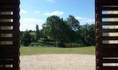 Construire au Landreau -  Plan d'Eau vu depuis le Jardin de l'Hôtel de Ville