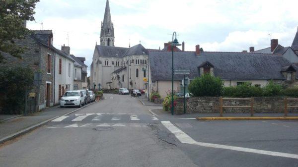 Construire à Saffré -  Église depuis rue de la Résistance