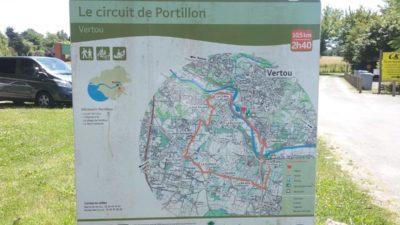 Construire à Vertou -  Randonnées, Le Circuit du Portillon