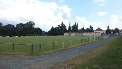Construire au Bignon -  Terrain de Football