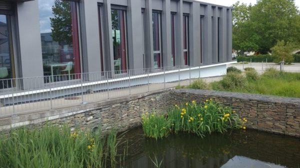 Construire à Pont-Saint-Martin -  Jardin de la Médiathèque