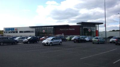Construire à Pont-Saint-Martin -  Supermarché