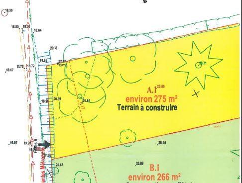 Maison 97m² + Terrain 275m² à Bouguenais - Terrain de 275m²