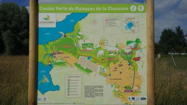 Construire à La Chevrolière -  Coulée Verte du Ruisseau de la Chaussée