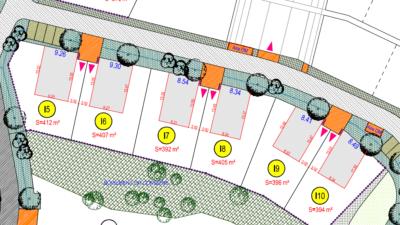 Terrain de 392m² à La Chevrolière - Plans I-5 à I-10 - Mon Projet Maison, Constructeur de Maisons en Loire Atlantique 44