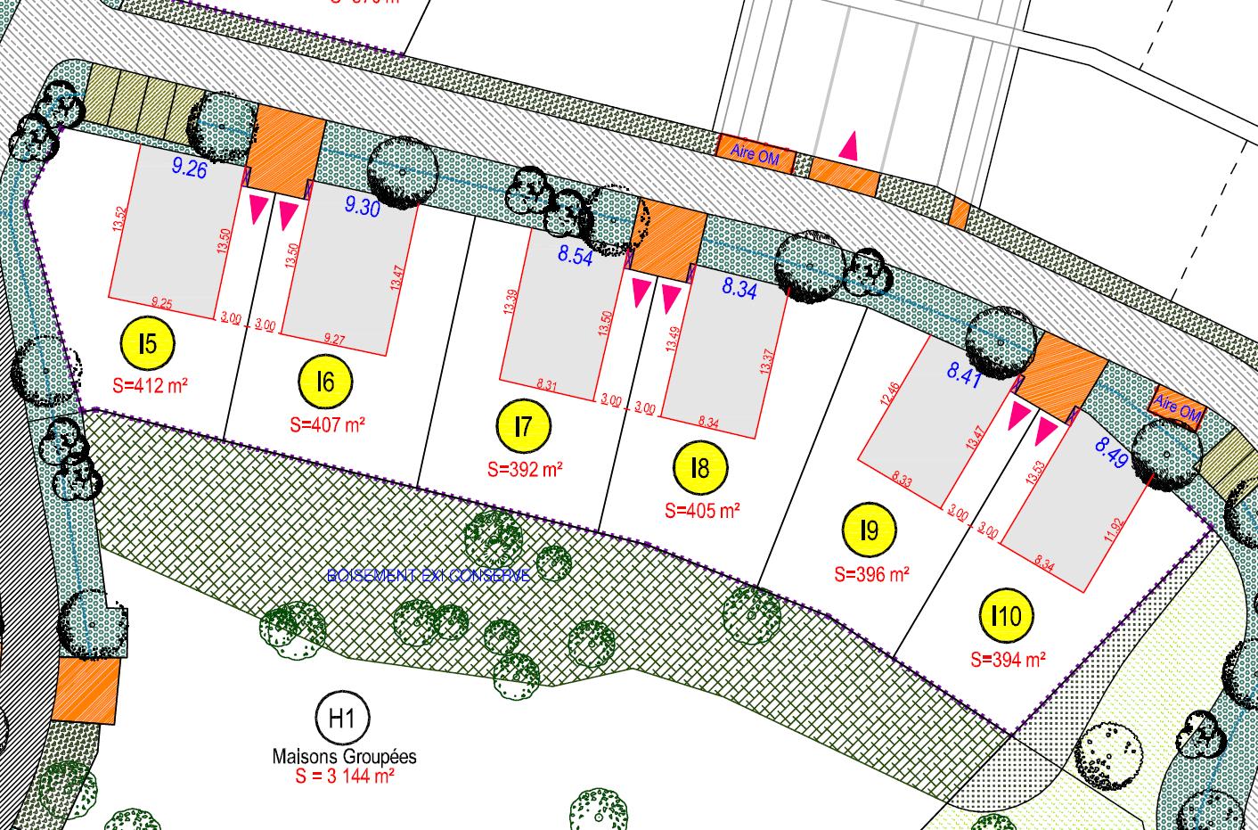 Maison 100m² + Terrain 392m² à La Chevrolière - Plans I5 à I10
