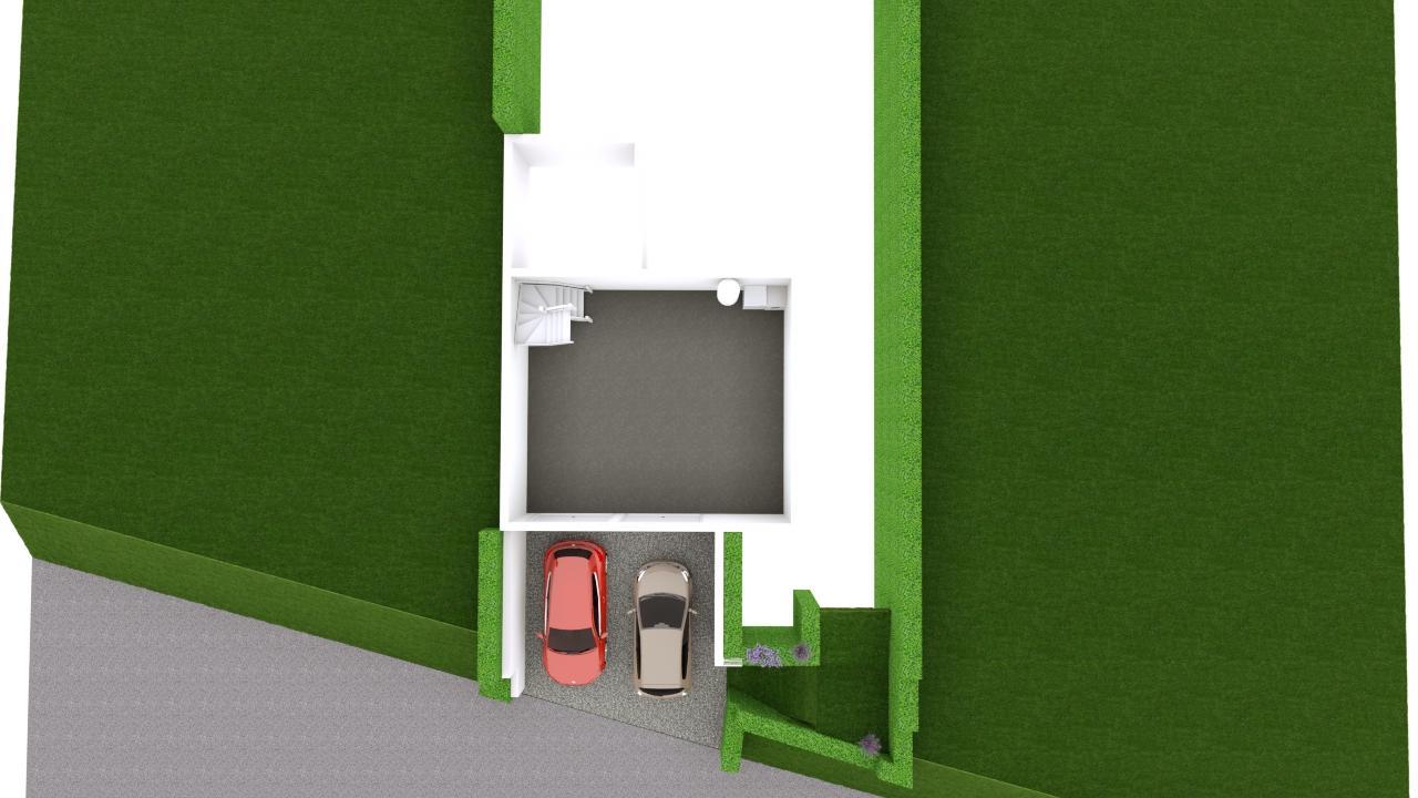 Maison 97m² + Terrain 275m² à Bouguenais - Proposition d'Aménagement du REZ de CHAUSSÉE