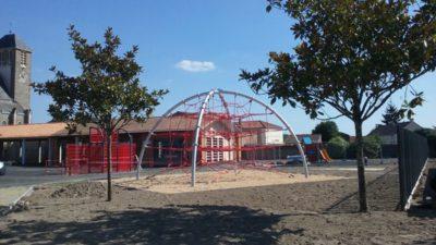 Construire au Bignon -  Cour de l'Accueil de Loisirs