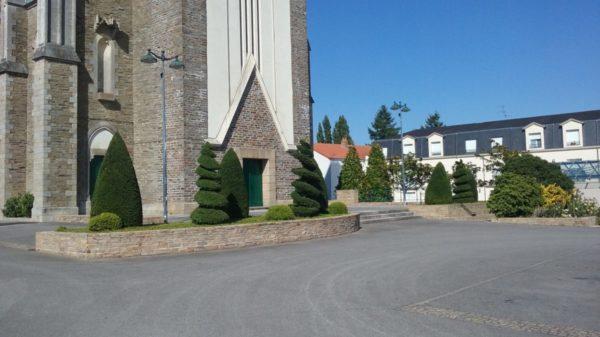 Construire au Bignon -  Perron de l'Église