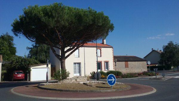 Construire au Bignon -  Rond Point Rue de la Moricière et D62
