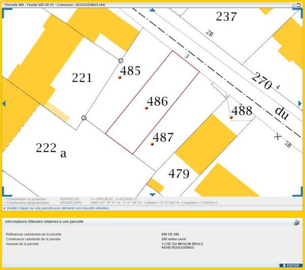 Maison 112m² + Terrain 200m² à Bouguenais - Parcelle DE 486