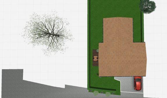 Maison 89m² + Terrain 396m² à Petit-Mars - Vue de Dessus