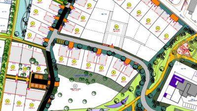 Quartier Beau Soleil à La Chevrolière - Capture plan Masse