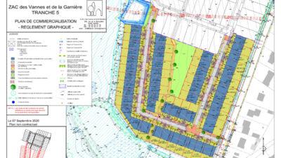 ZAC des Vannes et de la Garnière à Saint-Père-en-Retz - Plan de Composition ZAC des Vannes et de la Garnière Tranche 5